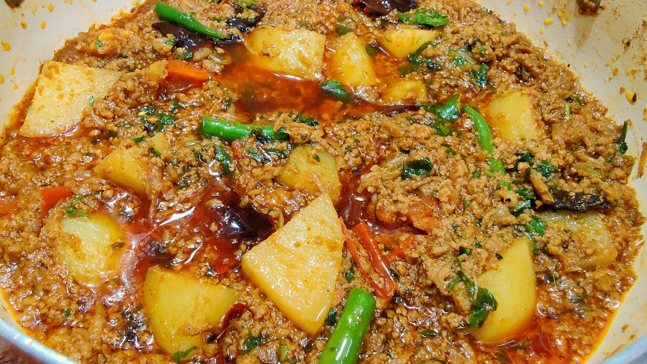 Aloo Keema Recipe | Super Quick and Tasty Keema Aloo Recipe | Keema Aloo Recipe