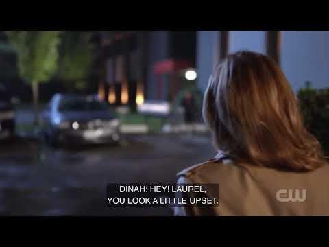 Arrow [7x6] Dinah and Laurel Talk