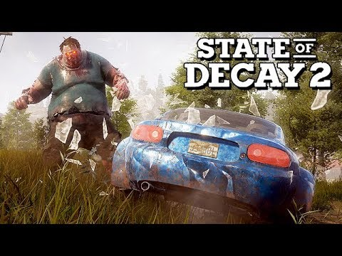 State of Decay 2 Gameplay German - Seuchenherz und Autodiebstahl