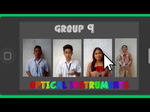 Group 9 Vlog(optical instruments)