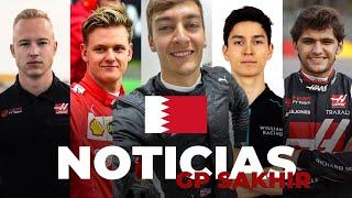 Russell sustituye a Hamilton en Sakhir, Mick Schumacher ficha por Haas... ¡y más! - Efeuno
