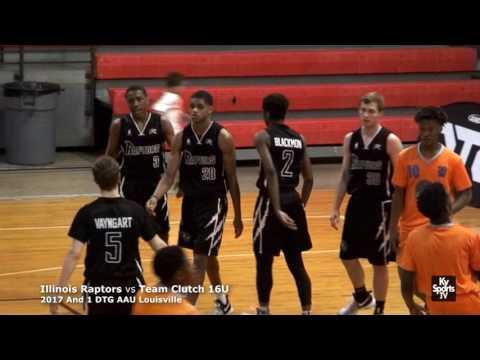 Illinois Raptors vs Team Clutch 16U - And 1 DTG AAU Louisville