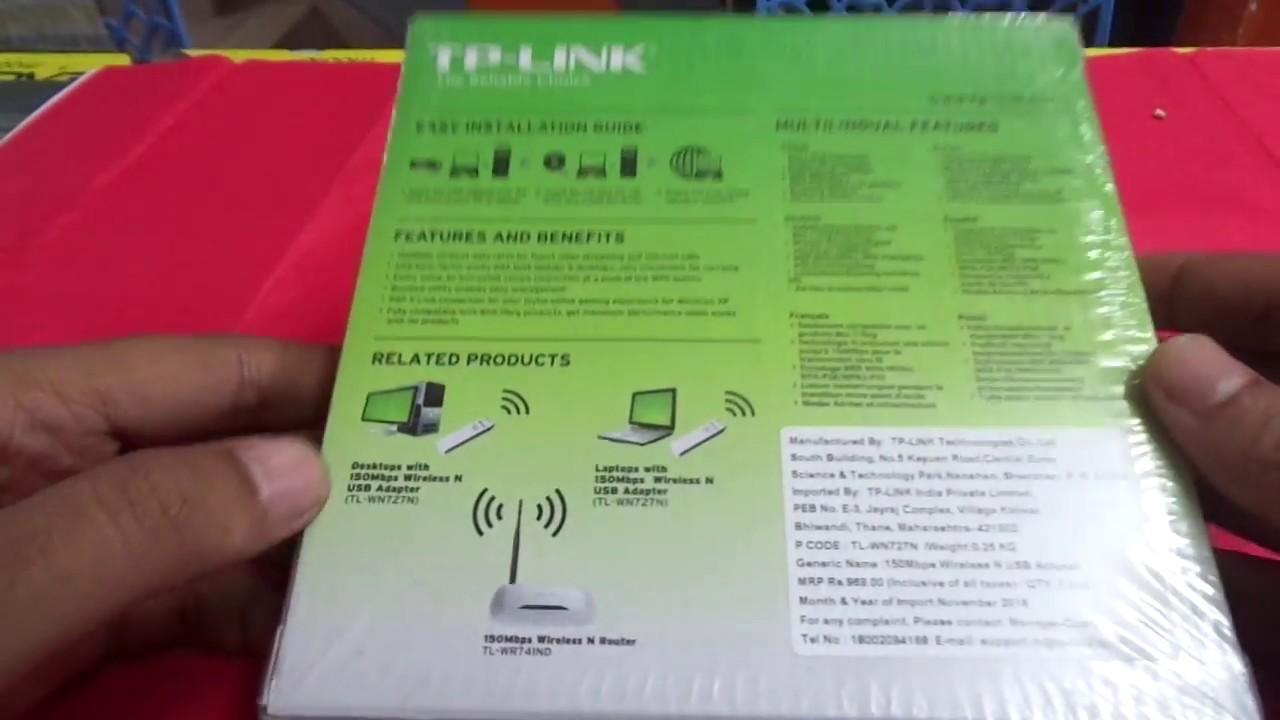 download driver tp link tl-wn727n 150mbps windows 7