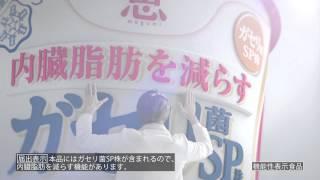 雪印メグミルクは8月29日、向井理さん出演の機能性表示食品「恵 megumi ガセリ菌SP株ヨーグルト」の新CMを放送する。 http://makernews.biz/201508265613-2/