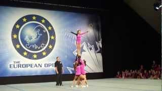 Открытый чемпионат Европы по черлидингу 2012 Видео 2(Груповые станты., 2012-11-11T16:17:10.000Z)