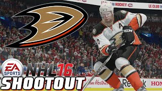 Ducks Fly Together - NHL 16 - Shootout Commentary ep. 16