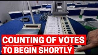 Counting of votes to 542 Lok Sabha seats, 4 State Assemblies to begin shortly