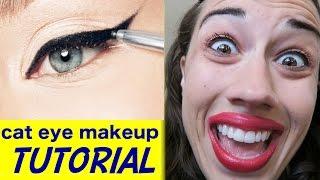 Cat Eye Makeup Tutorial!