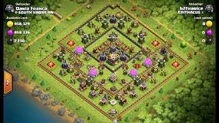 3 Star Popular Square Base ⭐️ TH11 ⭐️ BoWitchWalk ⭐️ Clash of Clans