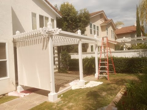 Patio Cover - Shade Cloth Installation - San Diego