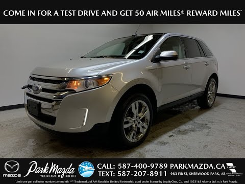 SILVER 2014 Ford Edge LIMITED Review - Park Mazda