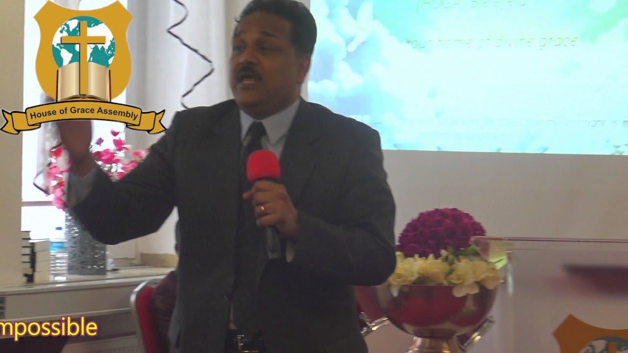 Rev. Dr. Samuel Patta & Family | Message: Faith for the impossible | 11.03.2018