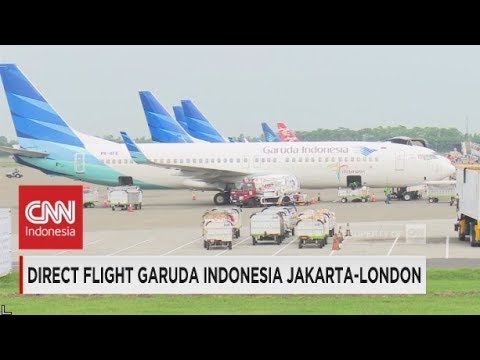 Direct Flight Garuda Indonesia Jakarta-London
