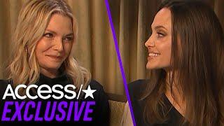 Angelina Jolie Admits She Had A Teen Crush On Maleficent Co-Star Michelle Pfeiffer