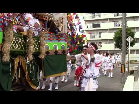 二島祇園山笠2013