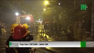TP HCM: Cháy lớn thiêu rụi nhiều ki ốt và một nhà dân | VTC14