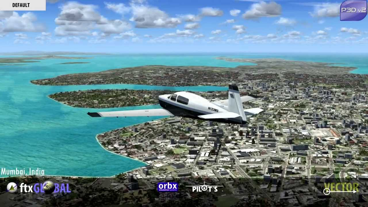 Orbx FTX Global VECTOR Asia Preview P3D 2 0