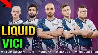 LIQUID VS VICI GAMING - ESL One Katowice 2018 Game 2