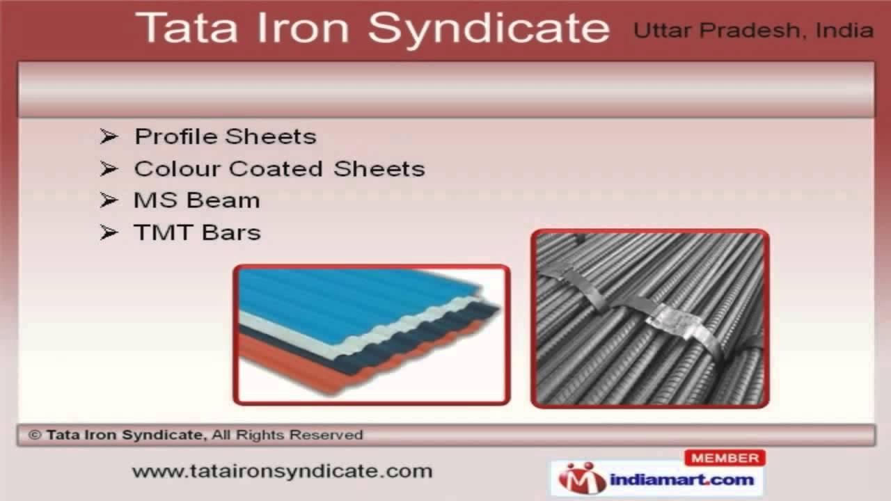 colour coated sheets in hyderabad : M S Products By Tata Iron Syndicate Ghaziabad