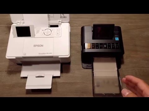 Epson PM-400 vs Canon CP1200 Compact Photo Printer Shootout