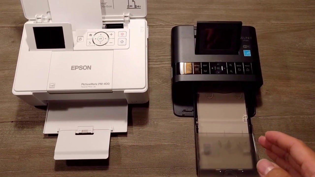 Epson vs. Canon Professional Printers Review