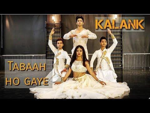 Tabaah Ho Gaye | Kalank | Madhuri Dixit | Kathak Fusion Cover | Kumar Sharma | Khushboo Gupta