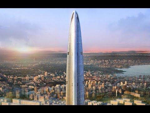 Wuhan Greenland Center (636m)- China's Future Tallest Building- $4.5 Billion Tower