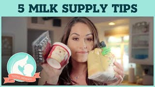 Brie's 5 tips to boost your milk supply | Total Mommy