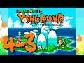 Yoshi's Island #4-3 - 3...2...1... - Gameplay comentado