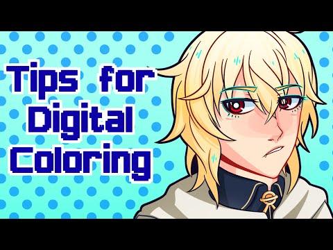 Digital Art- Coloring