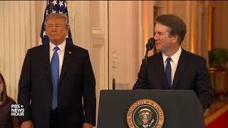 PBS NewsHour Special: President Trump picks Brett Kavanaugh