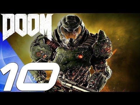 DOOM 4 (2016) - Gameplay Walkthrough Part 10 - Hell's Guard Boss Fight [1080P 60FPS]