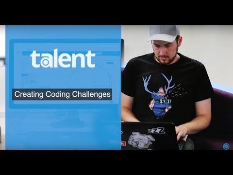 Creating Code Challenges on Talent Quick Overview