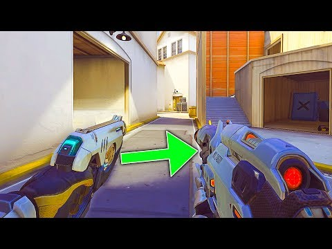 Insane *NEW* Game Mode - Gun Game! - 1 Player of Every Rank VS! - Overwatch Workshop