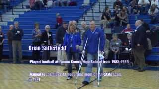 FCSHOF - Fannin County Sports Hall Of Fame - Bio - Brian Satterfield