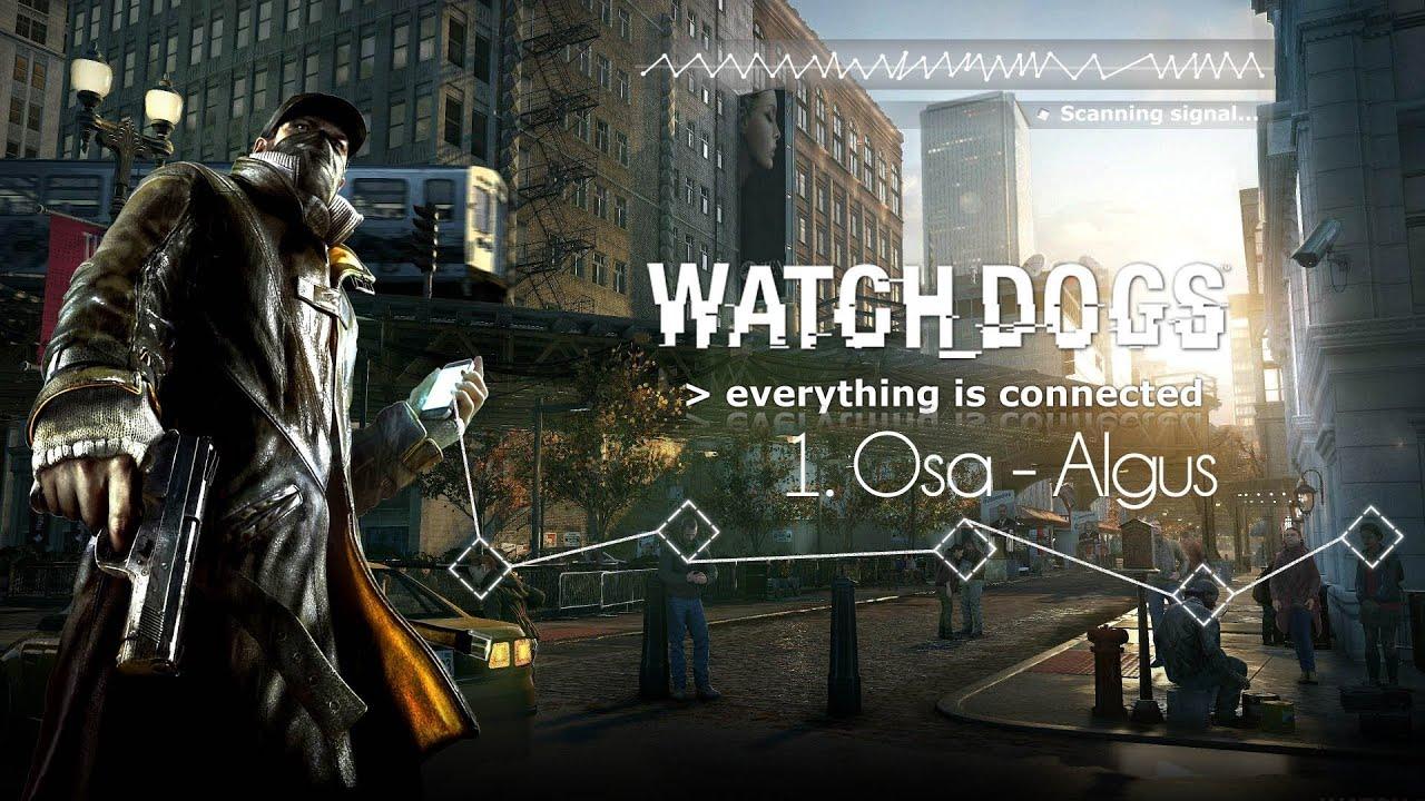 Watch Dogs 1 Osa Algus Pc 1080p Hd Youtube