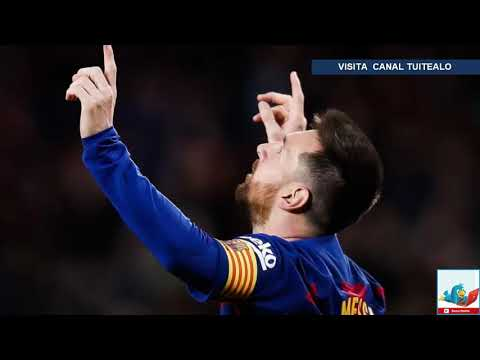 Por novena vez Lionel Messi marca 50 goles en un año