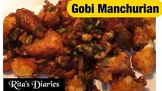 #15  Gobi Manchurian  Easy &amp Crispy Restaurant Style Recipe  Gobi 65