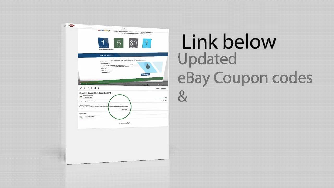 Ebay redemption code may 2016 updated youtube ebay redemption code may 2016 updated fandeluxe Gallery