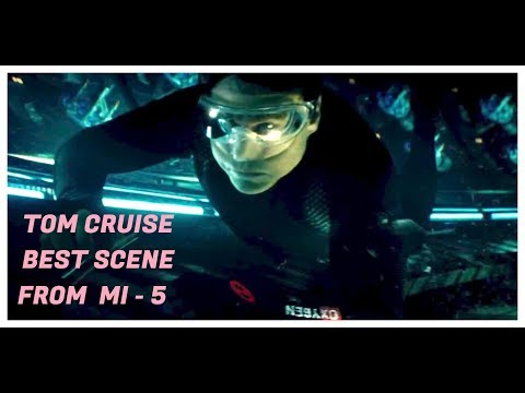 Tom Cruise Best Water Rescue Scene From MI-5(2015)