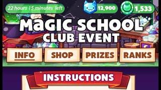[The Cat Game] Club Event - Magic School