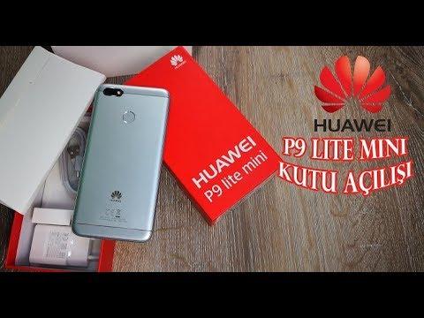 Huawei P9 Lite Mini Kutu Açılışı! Türkiye'de Bir İlk Daha...