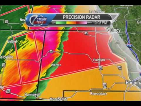 KHQA Severe Weather Coverage March 6, 2017 10 pm