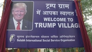 Tiny Indian village re-named after Donald Trump