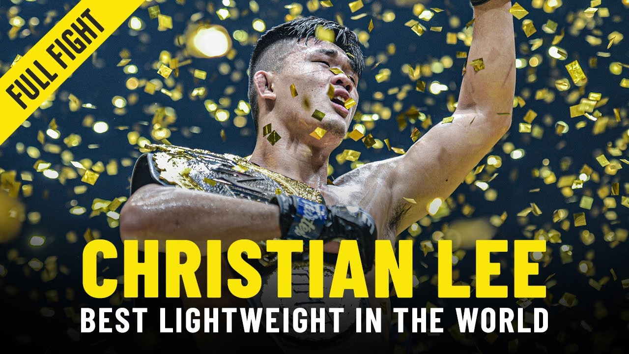 Christian Lee: The Best Lightweight In ONE Championship History?