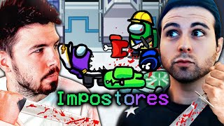 AMONG US: IMPOSTORES WILLY Y VEGETTA