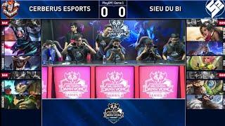 Cerberus Esports Vs Siêu Dự Bị Ván1| CES Vs SDB Chung Kết Đấu Trường Danh Vọng SeriB Mùa Đông 2019