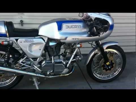 Ducati 900 SS Bevel engine start!!! beautiful Bike!!