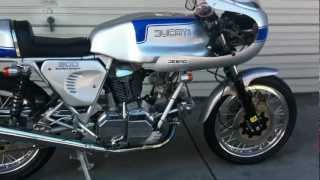 Ducati 900 SS Bevel engine start!!! beautiful Bike!!