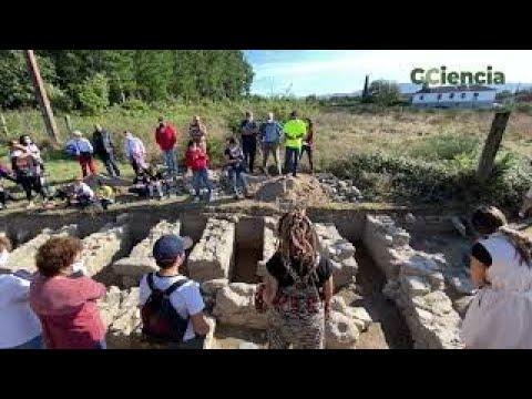 Un hórreo único en Galicia confirma o tesouro romano de Proendos